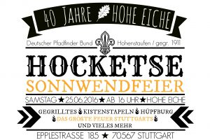 Hocketse Flyer fertig